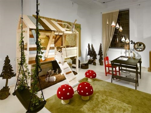 whimsical ideas to design your kids' playroom - interior design
