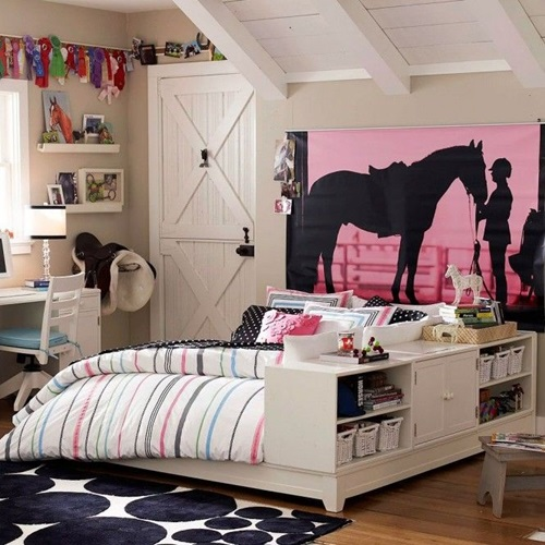 Wonderful Classic Young Girl Bedroom Decorating Ideas ...