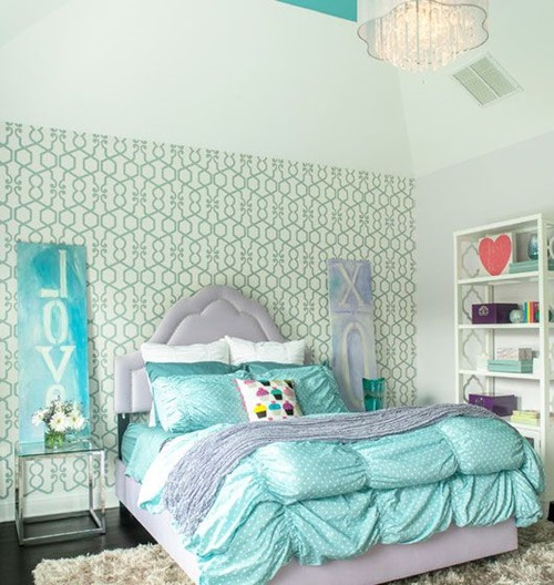 Wonderful classic young girl bedroom decorating ideas How to decorate a teenage room