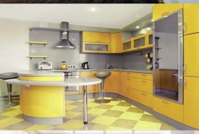 4 Creative Kitchen Office Design Ideas
