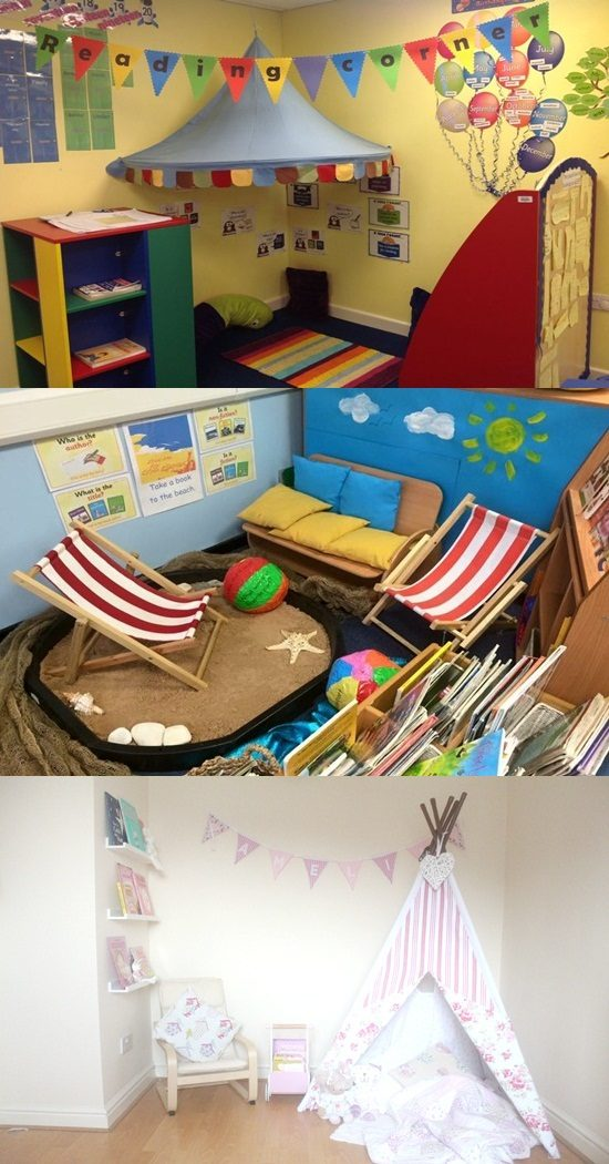5 Brilliant Ideas for Making a Reading Corner in Your House