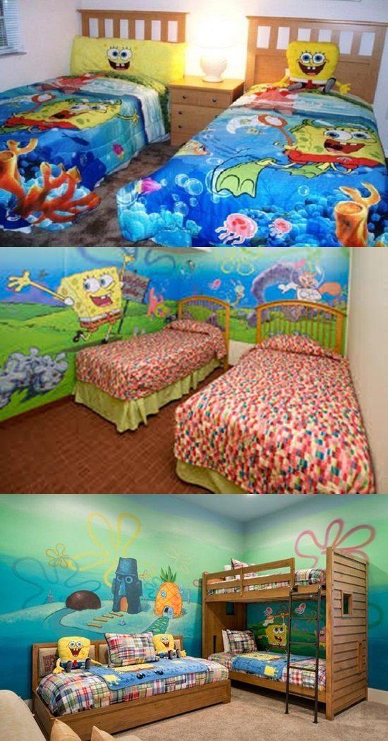 5 Steps to Remodel Your Kids' Room Using Sponge Bob Theme
