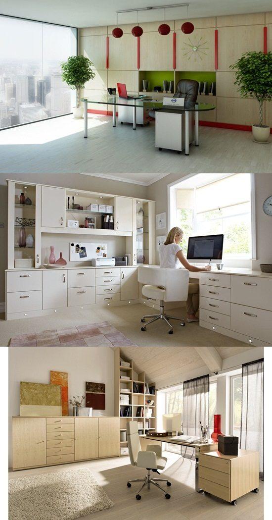5 unique small modern home office design ideas interior design. Black Bedroom Furniture Sets. Home Design Ideas
