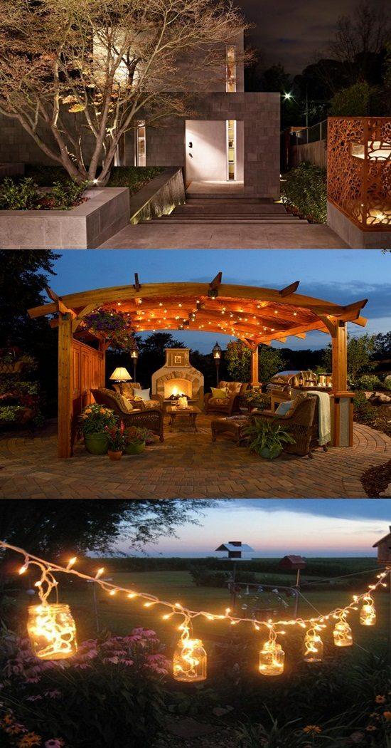 9 Amazing Kinds of Patio Light Design Ideas