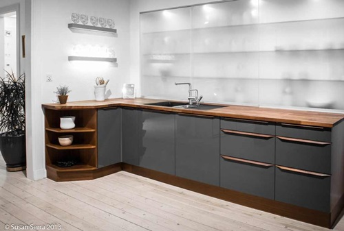 Astonishing swedish home decorating ideas interior design for Modern scandinavian kitchen design