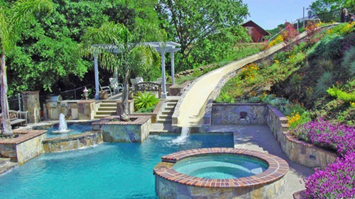 breathtaking outdoor swimming pool designs and decorations - Outdoor Swimming Pool Designs