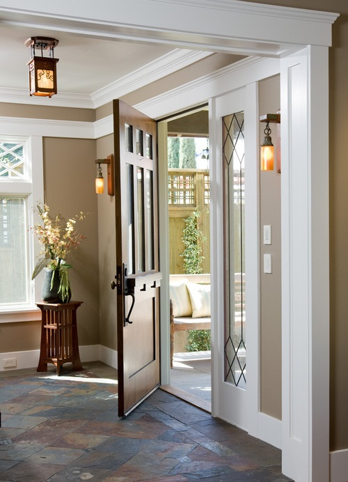 Foyer Trim Ideas : Contemporary entryway foyer decorating ideas interior design