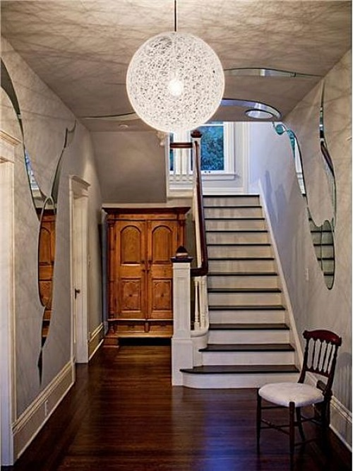Contemporary entryway foyer decorating ideas interior design for Foyer makeover ideas