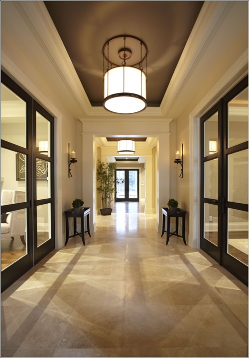 Contemporary entryway foyer decorating ideas interior design for Contemporary foyer ideas