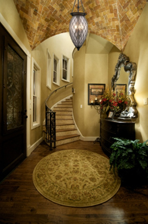 Contemporary entryway foyer decorating ideas interior design for Foyer staircase decorating ideas