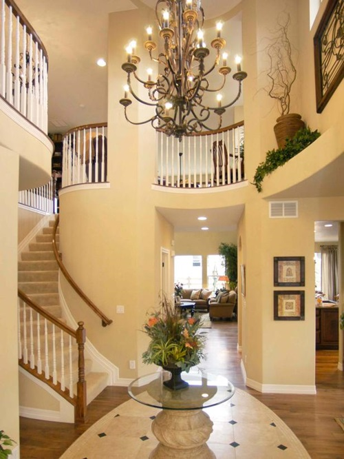 Contemporary Entryway Foyer Decorating Ideas ...