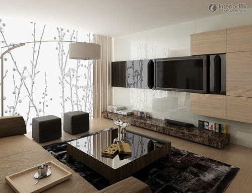 Creative Ideas for a Windowless Living Room Decoration