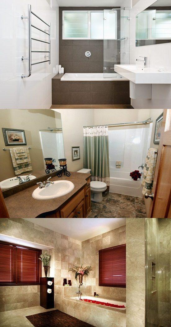 Creative small bathroom makeover ideas on budget interior design - Low budget bathroom makeovers ...