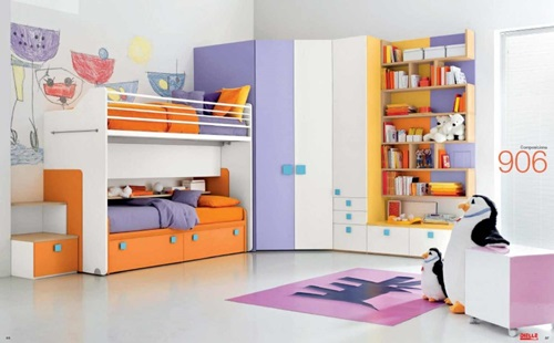 Cute Scandinavian Kids Room Decorating Ideas