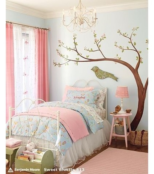Bedroom Girly Ideas: Cute Toddler Girl Bedroom Decorating Ideas