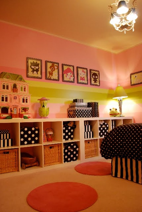 Cute toddler girl bedroom decorating ideas interior design for Room decor ideas storage