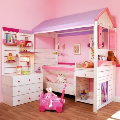 Cute toddler girl bedroom decorating ideas interior design - Tiny bedroom decoration comforting your sleep with delicate layout ...