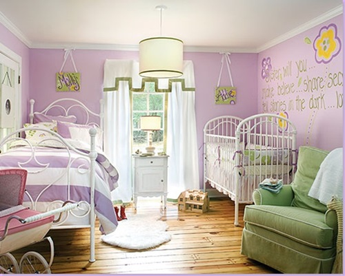 Cute toddler girl bedroom decorating ideas interior design for Baby girl bedroom decoration