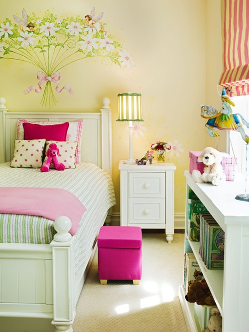 Cute toddler girl bedroom decorating ideas interior design - Toddler bed decorating ideas ...