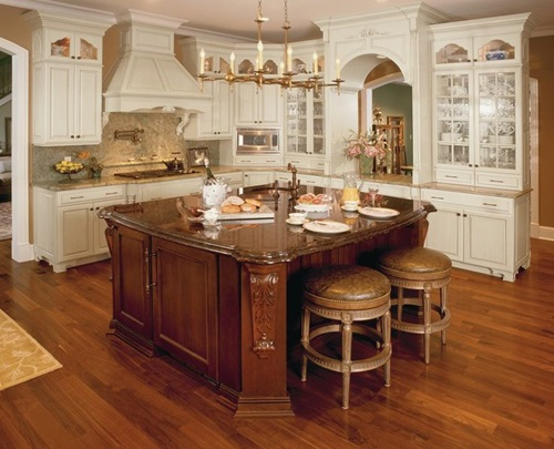 4 Brilliant Kitchen Remodel Ideas: Elegant Espresso Cabinet Designs For A Warm Traditional