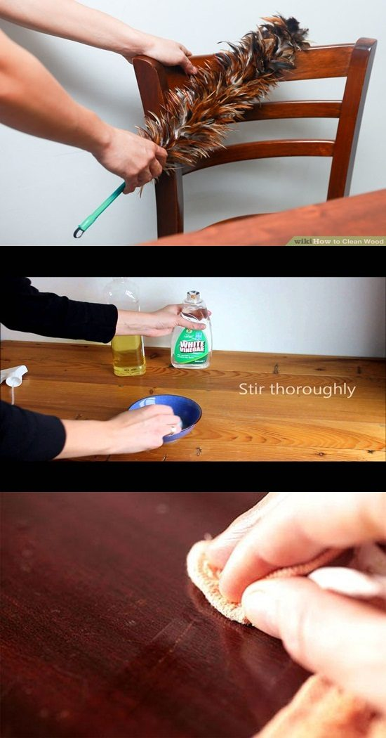 How to clean and polish your wooden furniture properly for Clean interior design