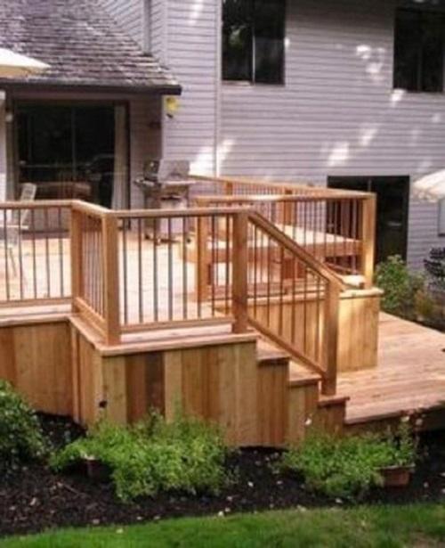 How to create a non slip outdoor decking interior design for Simple outdoor decks