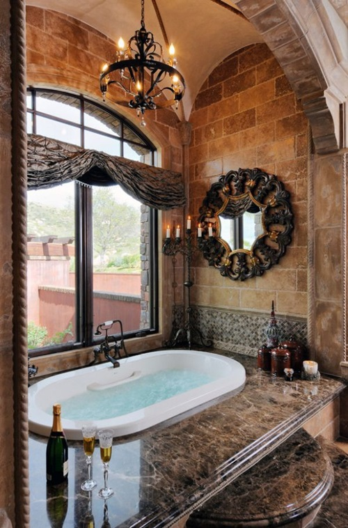 Relaxing Tub Room Like Colors