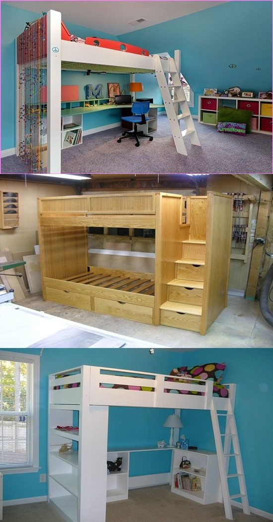 How to make your own loft bed in easy 5 steps interior for Design your own bed