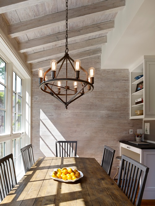 Impressive modern farmhouse design ideas interior design - Dining room chandelier contemporary style ...