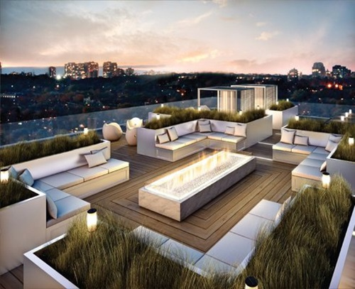 Inspiring rooftop deck design ideas interior design for Rooftop deck design ideas