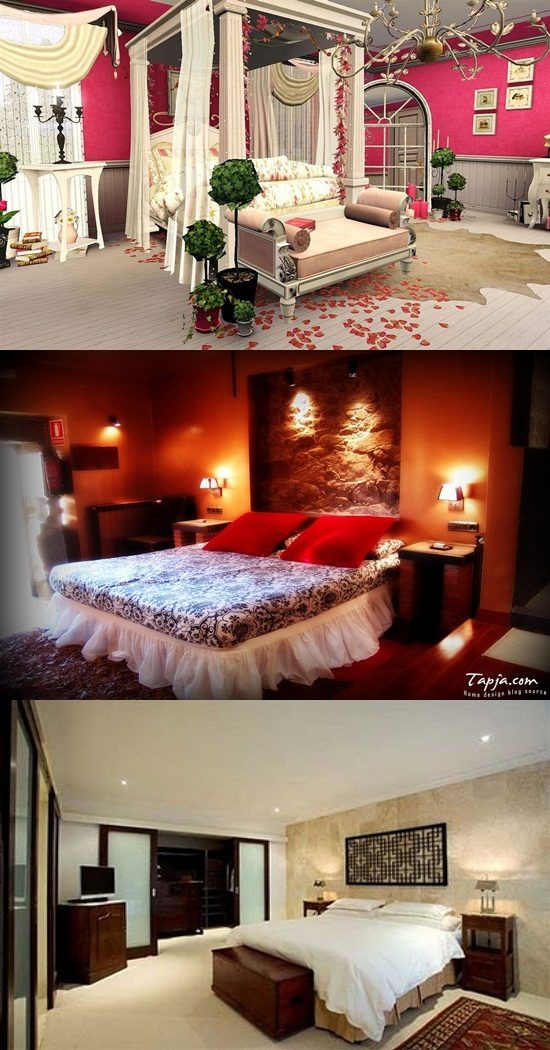 Inviting romantic bedroom decorating ideas interior design Romantic bedroom interior ideas