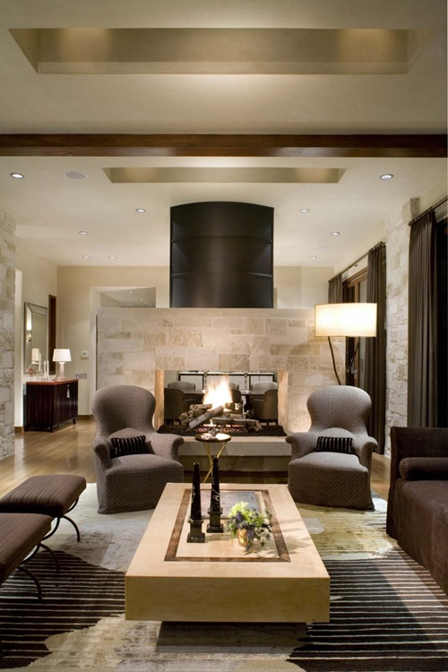 Modern Traditional Living Room