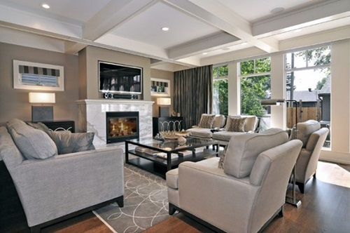 Traditional Living Room luxurious modern and traditional living room design ideas