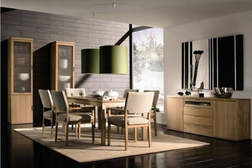 minimal japanese modern dining room design ideas - Dining Room Design Ideas