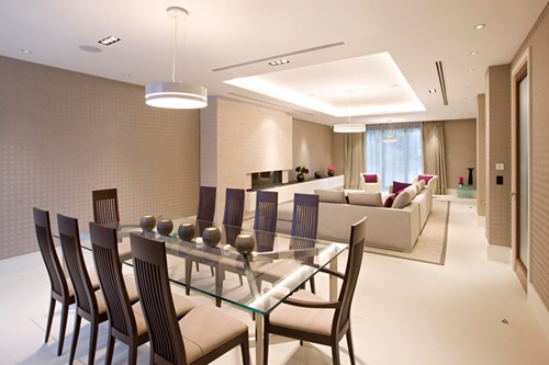 ... Minimal Japanese Modern Dining Room Design Ideas ... Part 24