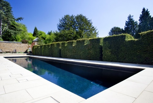 Mosaic Tile Luxurious Designs for Outdoor Swimming Pools
