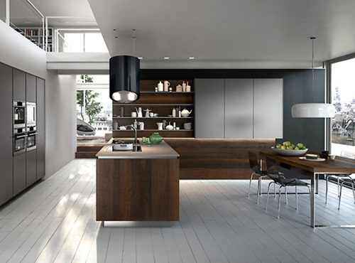 popular spacious modern kitchen design trends interior design