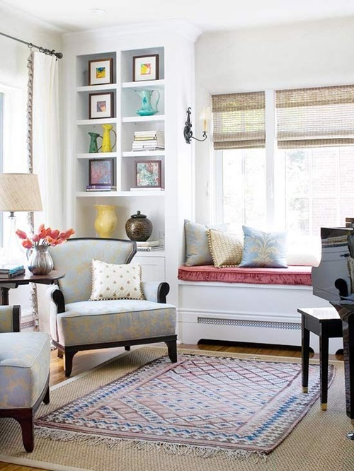 Refreshing Spring Decorations for a Windowless Room