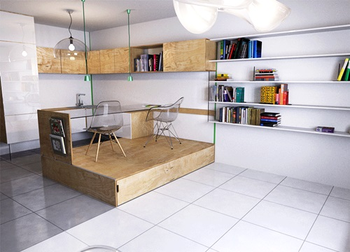 Small Apartment Innovative Solutions - Interior design