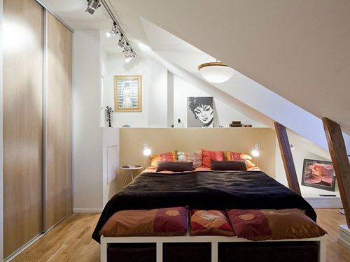 Small and Large Attic Room Design Ideas ...