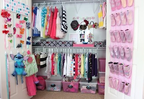 Smart Modern Kids Wardrobe Design Ideas