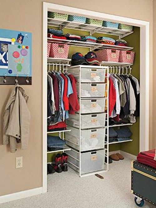 Smart Modern Kids Wardrobe Design Ideas