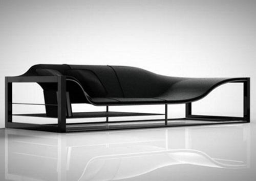 Stunning futuristic seating furniture designs to provide for Minimalist sofa design