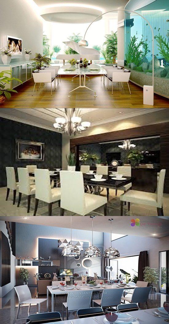 Unique Modern Dining Room Design Ideas - Interior design