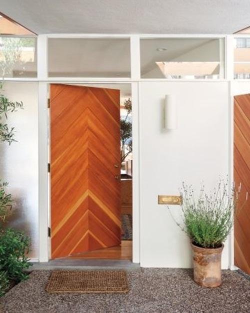 25 Cool Chevron Interior Design Ideas: 5 Interesting Door Alternatives For Your Modern Home