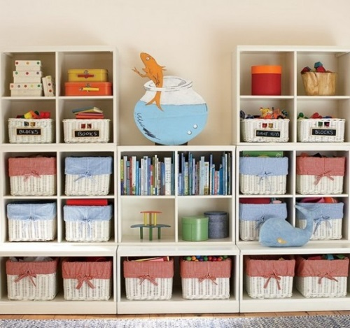 Amazing Functional and Decorative Storage Ideas for Your Kids Toys