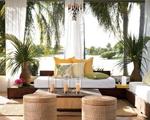 Amazing interior and exterior balcony design ideas for Tropical interior design ideas