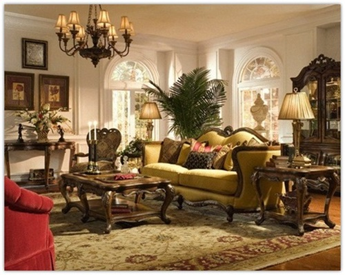 Amazing Ways to Decorate a Romantic Traditional Living Room ...