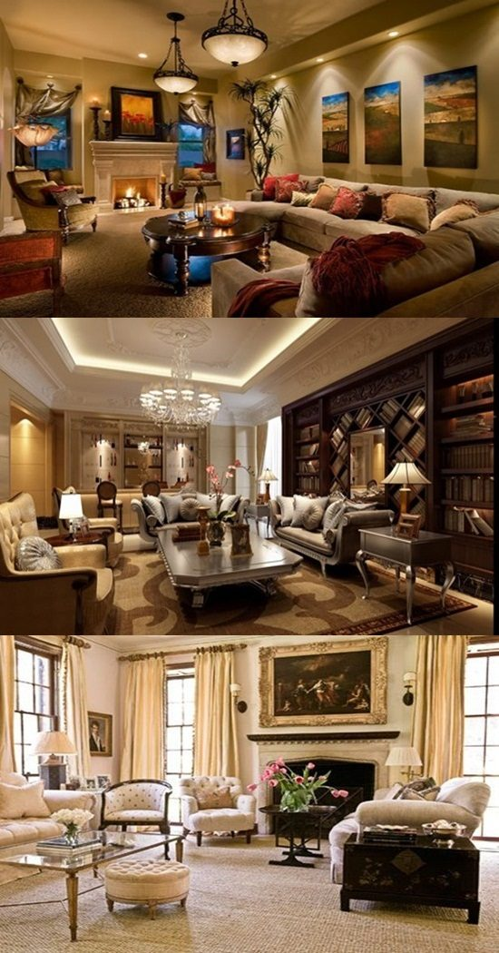 Living Room Designs Traditional: Amazing Ways To Decorate A Romantic Traditional Living