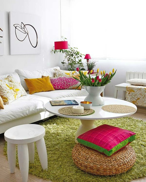 Creative Ways to Refresh Your Living Room during Spring